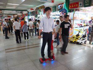 中国では大人気のミニセグウェイ!
