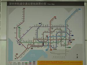 深圳の地下鉄事情