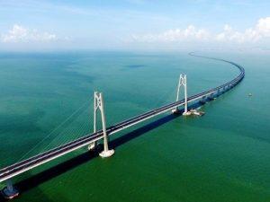 世界最長クラスの海上橋「港珠澳大橋」